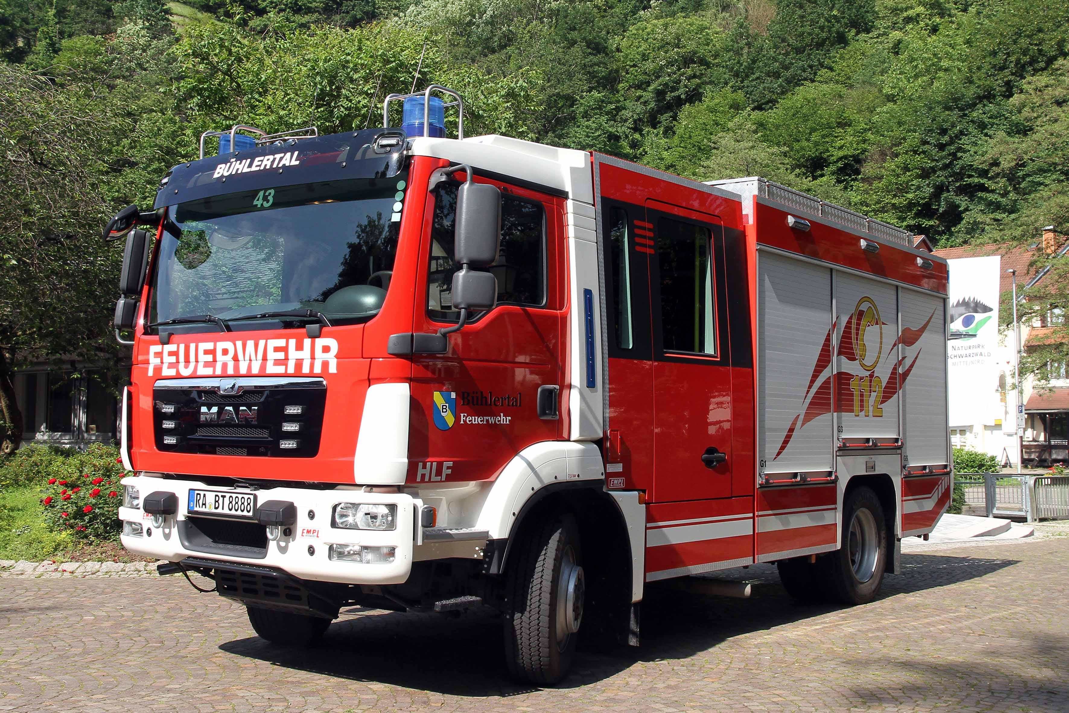 Feuerwehr Bühlertal